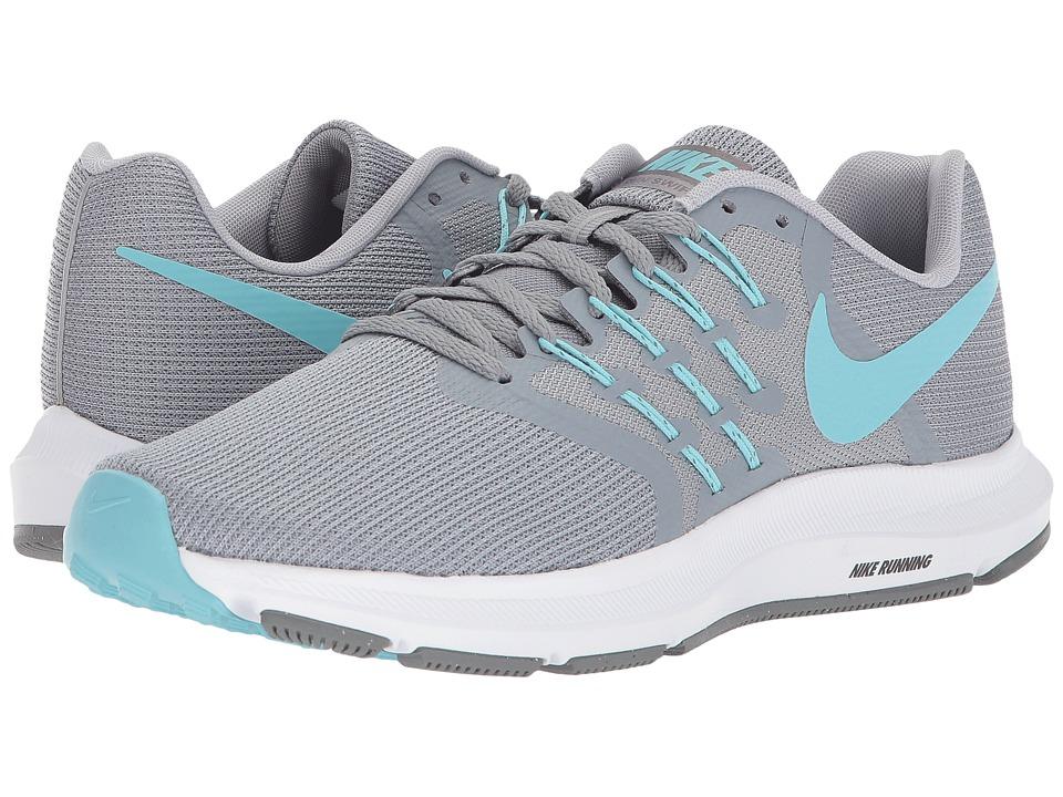 Nike - Run Swift (Stealth/Bleached Aqua/Cool Grey) Womens Running Shoes