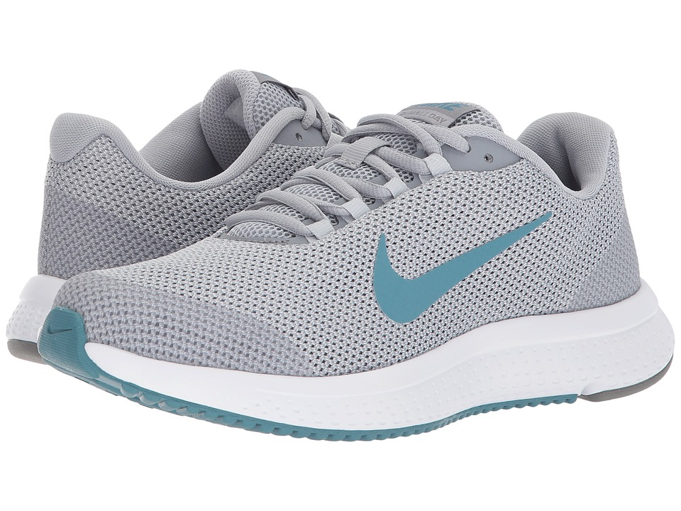 Nike RunAllDay (Wolf Grey/Noise Aqua/Stealth) Women's Running Shoes