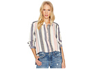Roxy Romantic Path Stripe Woven Top