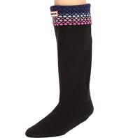 Hunter - Original Tall Boot Sock Fair Isle Lattice Nylon
