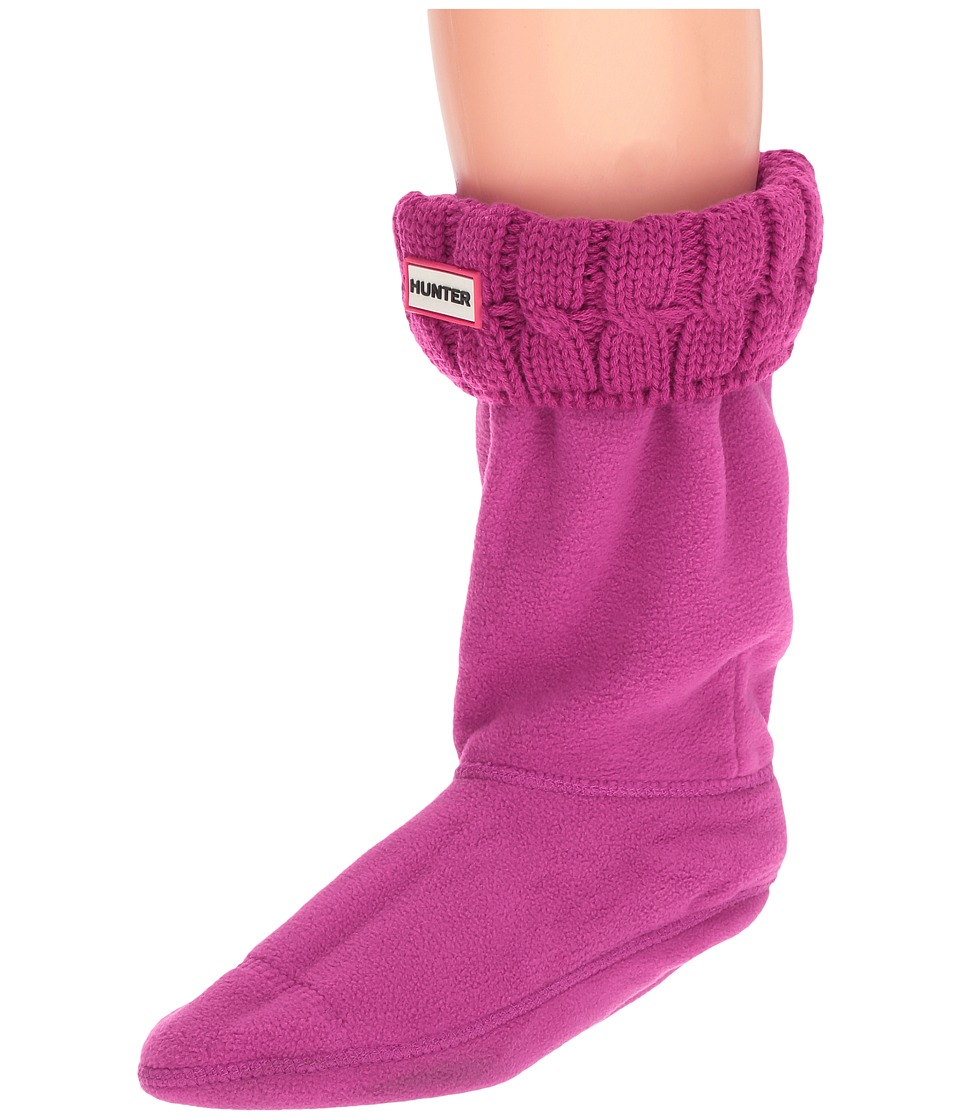 Hunter - 6 Stitch Cable Boot Sock