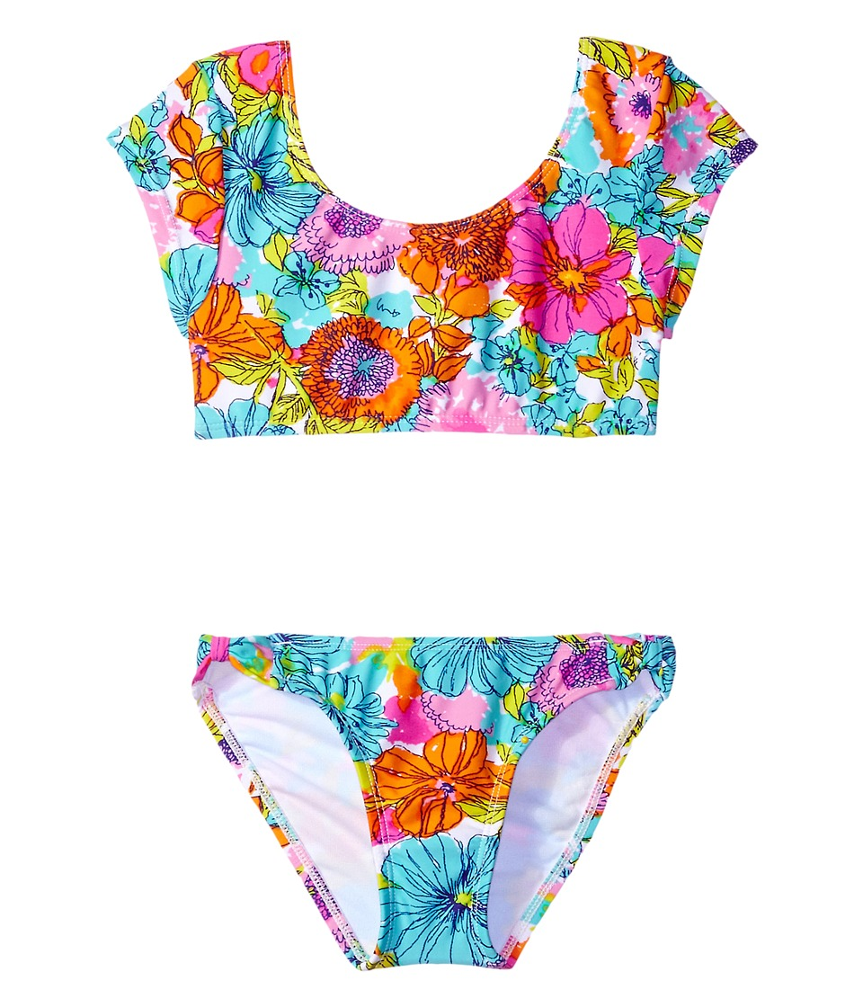 Hobie Kids - Fleur To Love Bow Crop Top and Hipster