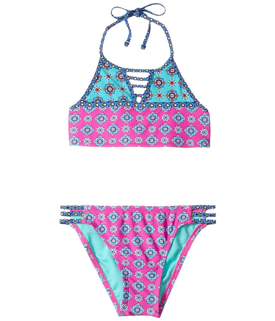 Hobie Kids - Mix It Up High Neck and Strappy Hipster