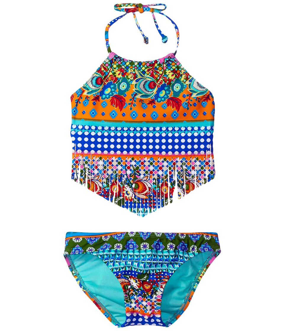 Hobie Kids - Seam Weaver Fringe Tankini and Hipster