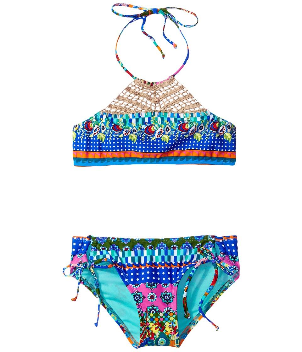 Hobie Kids - Seam Weaver Crochet High Neck and Adjustable Hipster