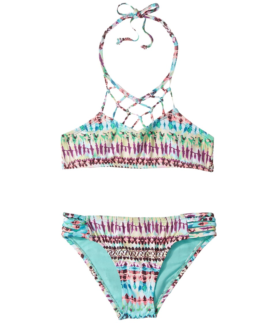 Hobie Kids - Do or Tie-Dye Macrame High Neck and Strappy Hipster Set