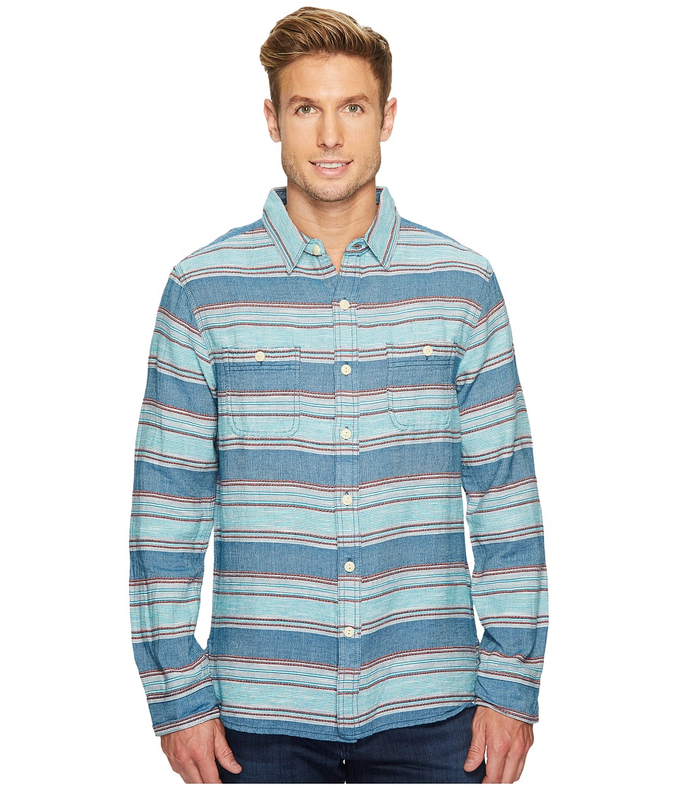 True Grit - High Altitude Taos Stripe Long Sleeve Two-Pocket Shirt