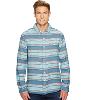 True Grit - High Altitude Taos Stripe Long Sleeve Two-Pocket Shirt