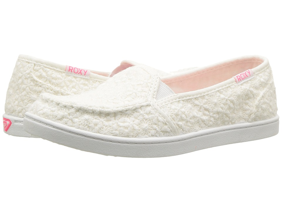 Roxy Kids RG Lido IV (Little Kid/Big Kid) (White) Girls Shoes