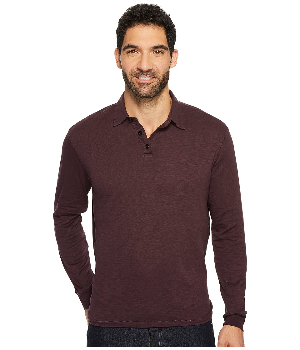True Grit - Long Sleeve Trubador Slub Polo