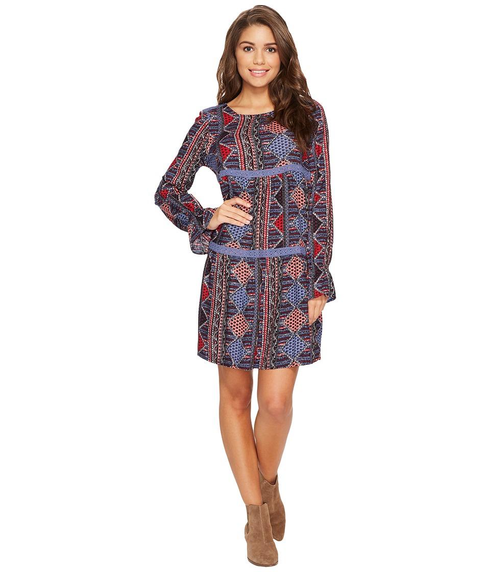 Roxy Sweetness Seas Woven Dress (Anthracite) Women's Dress