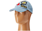 Steve Madden - Multi 7 Patch Stone Washed Baseball Cap