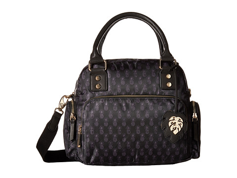 Tommy Bahama Siesta Key Satchel - Black Pineapple