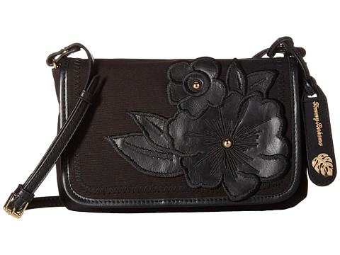 Tommy Bahama Casbah Convertible Clutch Crossbody - Black