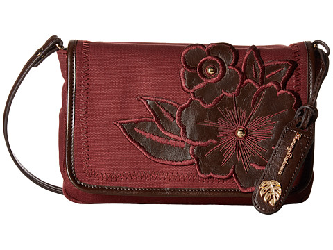 Tommy Bahama Casbah Convertible Clutch Crossbody - Ruby