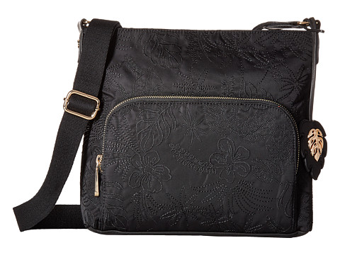 Tommy Bahama Siesta Key Crossbody - Black Embroidery