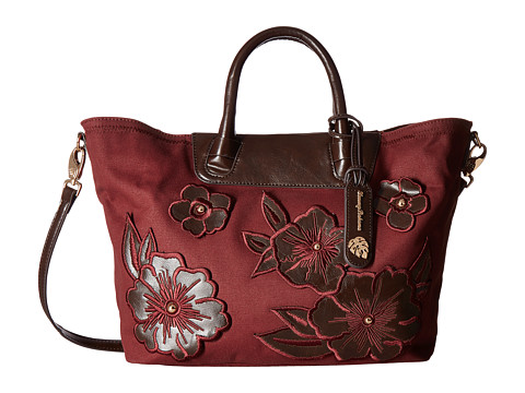 Tommy Bahama Casbah Satchel - Ruby
