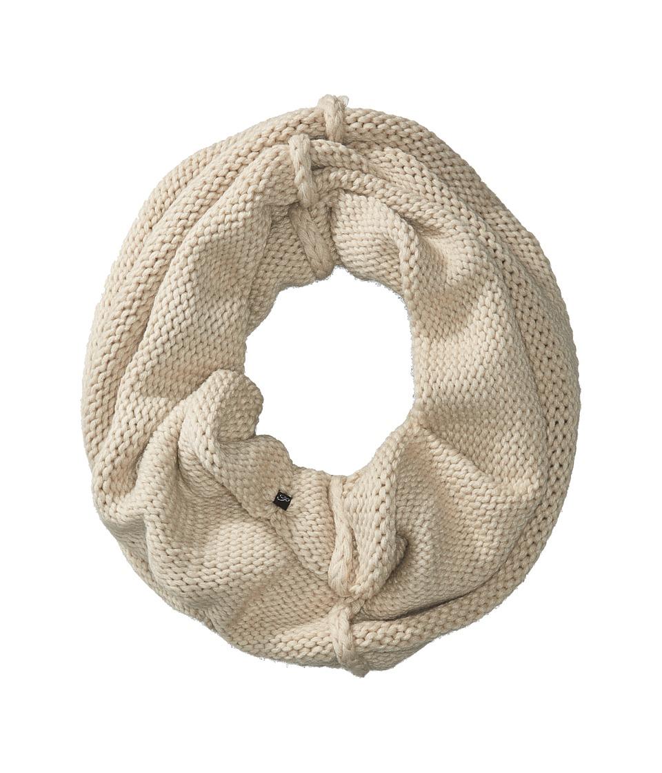 Plush - Fleece-Lined Chunky Knit Neck Warmer (Mink) Scarves