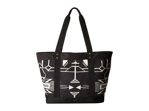 Pendleton Large Zip Tote - Tsi Mayoh Black