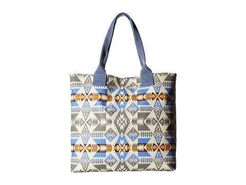 Pendleton Canopy Canvas Tote - Silver Bark