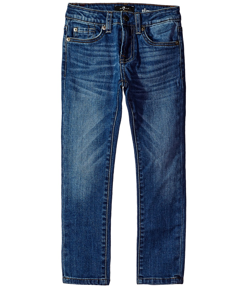 7 For All Mankind Kids Denim Jeans in Solace (Little Kids/Big Kids) (Solace) Boy