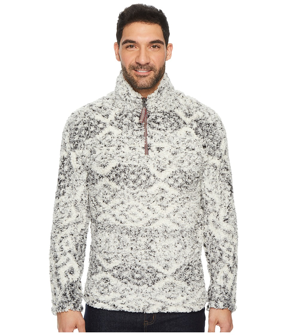 True Grit - Frosty Tipped Tribal Pile 1/4 Zip Pullover