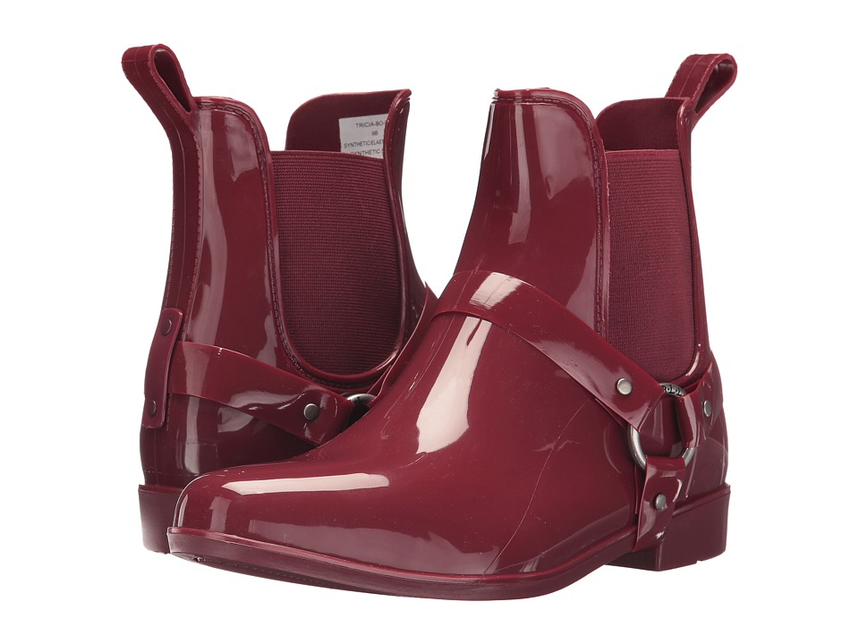 LAUREN Ralph Lauren Tricia (Deep Red Solid PVC) Women