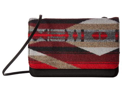 Pendleton Slim Wallet w/ Strap - La Paz Scarlet