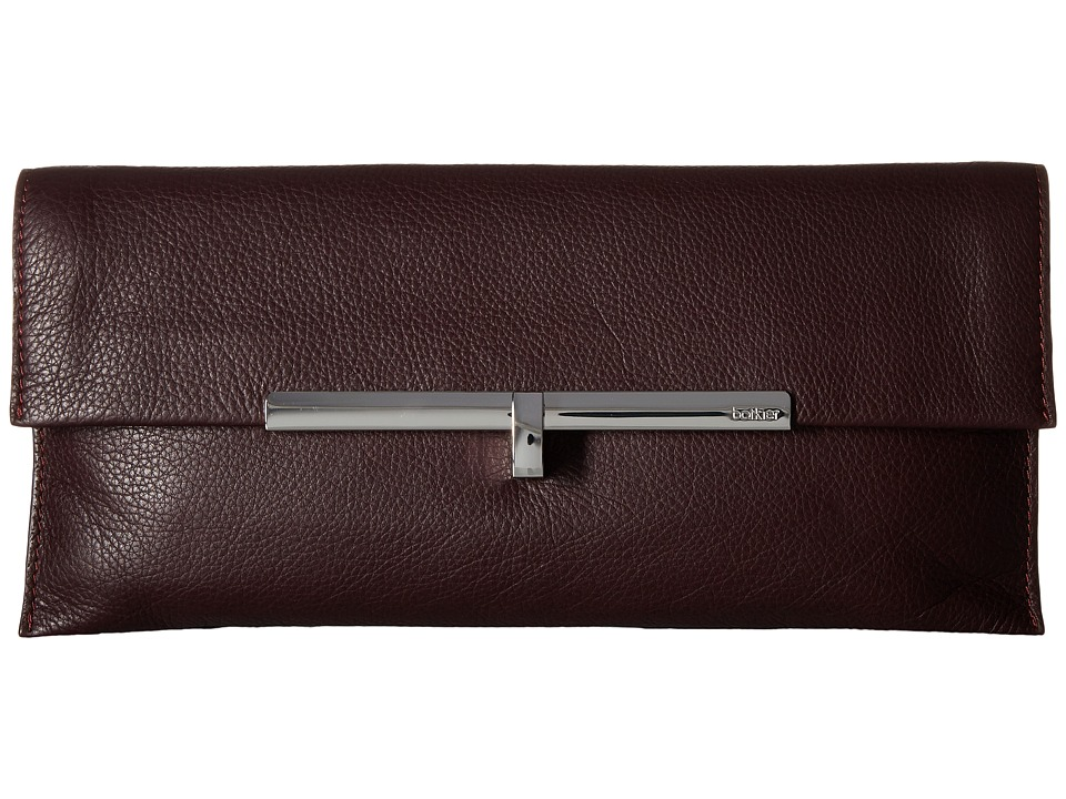 Botkier Bleecker Clutch (Wine) Clutch Handbags