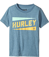 Hurley Kids - Stadium Lines Tee (Little Kids)