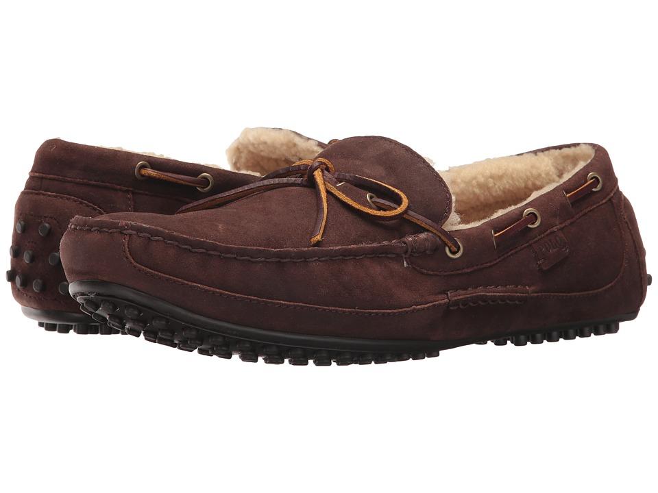 Ralph Lauren Wyndings-S (Dark Chocolate/Natural) Men's Shoes