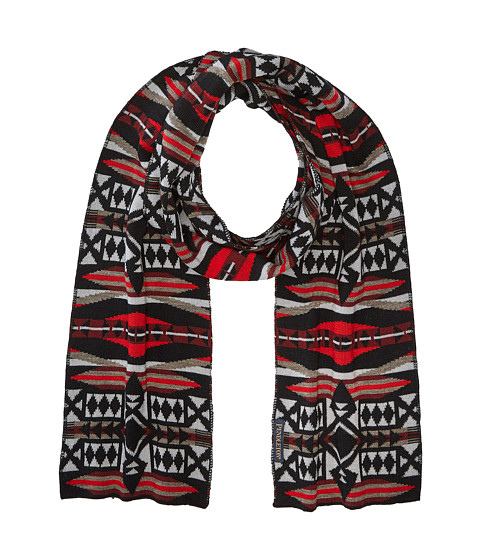 Pendleton Knit Muffler - La Paz Scarlet