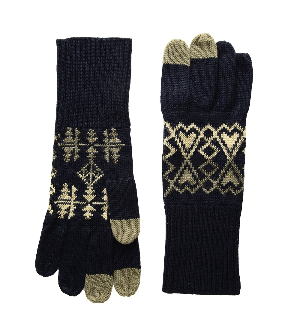 Pendleton Jacquard Knit Gloves (Arrow Revival Sage) Wool Gloves