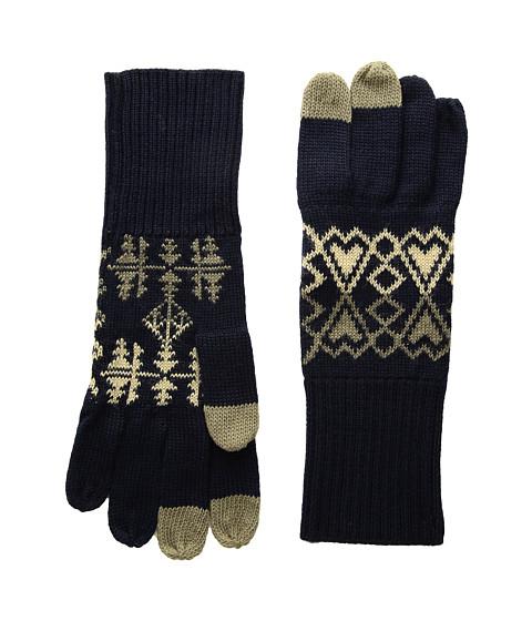 Pendleton Jacquard Knit Gloves - Arrow Revival Sage