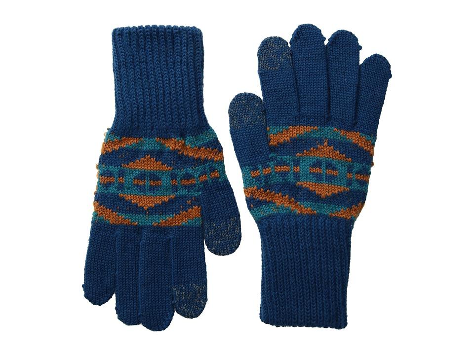 Pendleton Texting Glove (La Paz Turquoise) Extreme Cold Weather Gloves