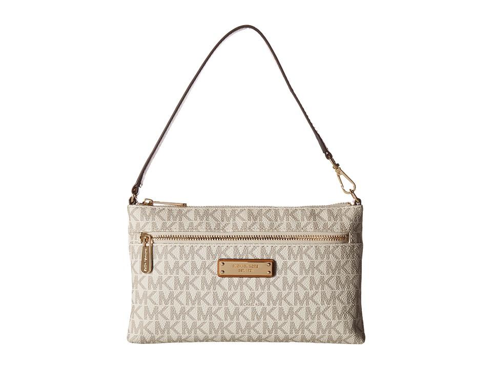 MICHAEL Michael Kors - Large Wristlet (Vanilla) Handbags