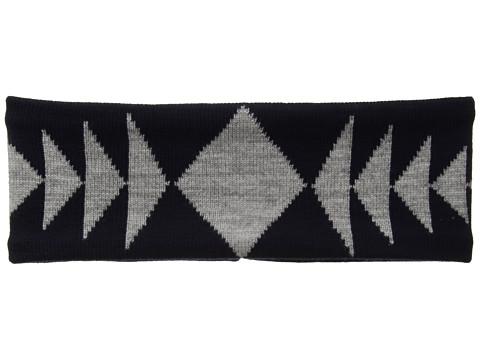 Pendleton Fleece Lined Headband - Thunder Quarrel Navy/Grey