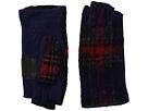 Echo Design Plaid Fingerless Gloves