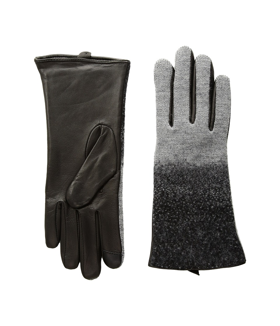Echo Design Ombre Needle Felt Gloves (Heather Grey) Dress Gloves