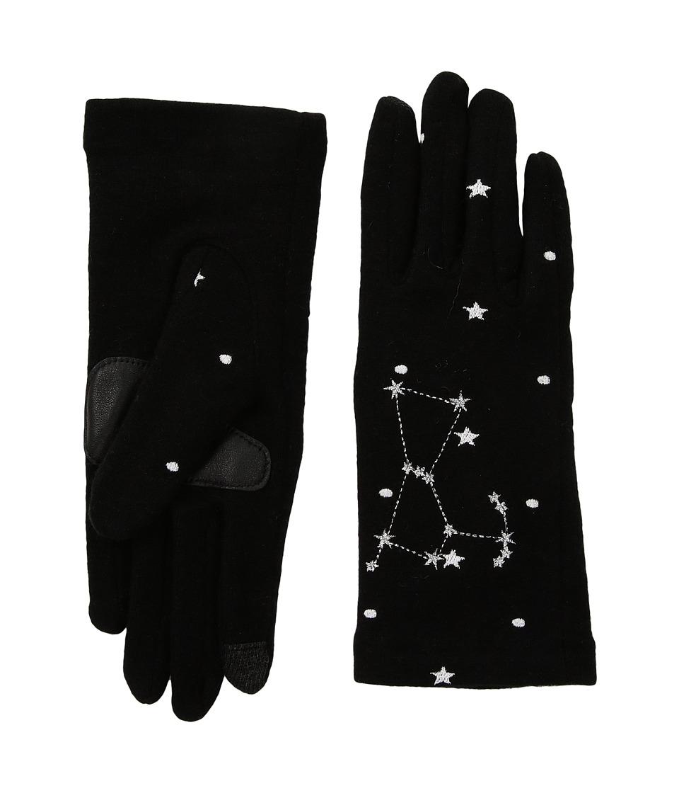 Echo Design Night Sky Gloves (Black Orion) Dress Gloves