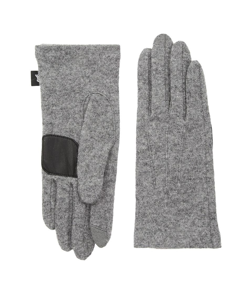 Echo Design Classic Touch Gloves (Heather Grey) Dress Gloves