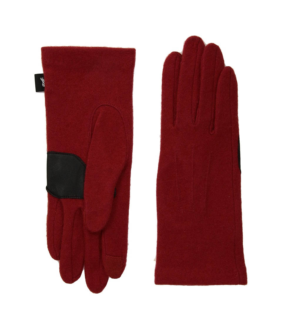Echo Design Classic Touch Gloves (Currant) Dress Gloves
