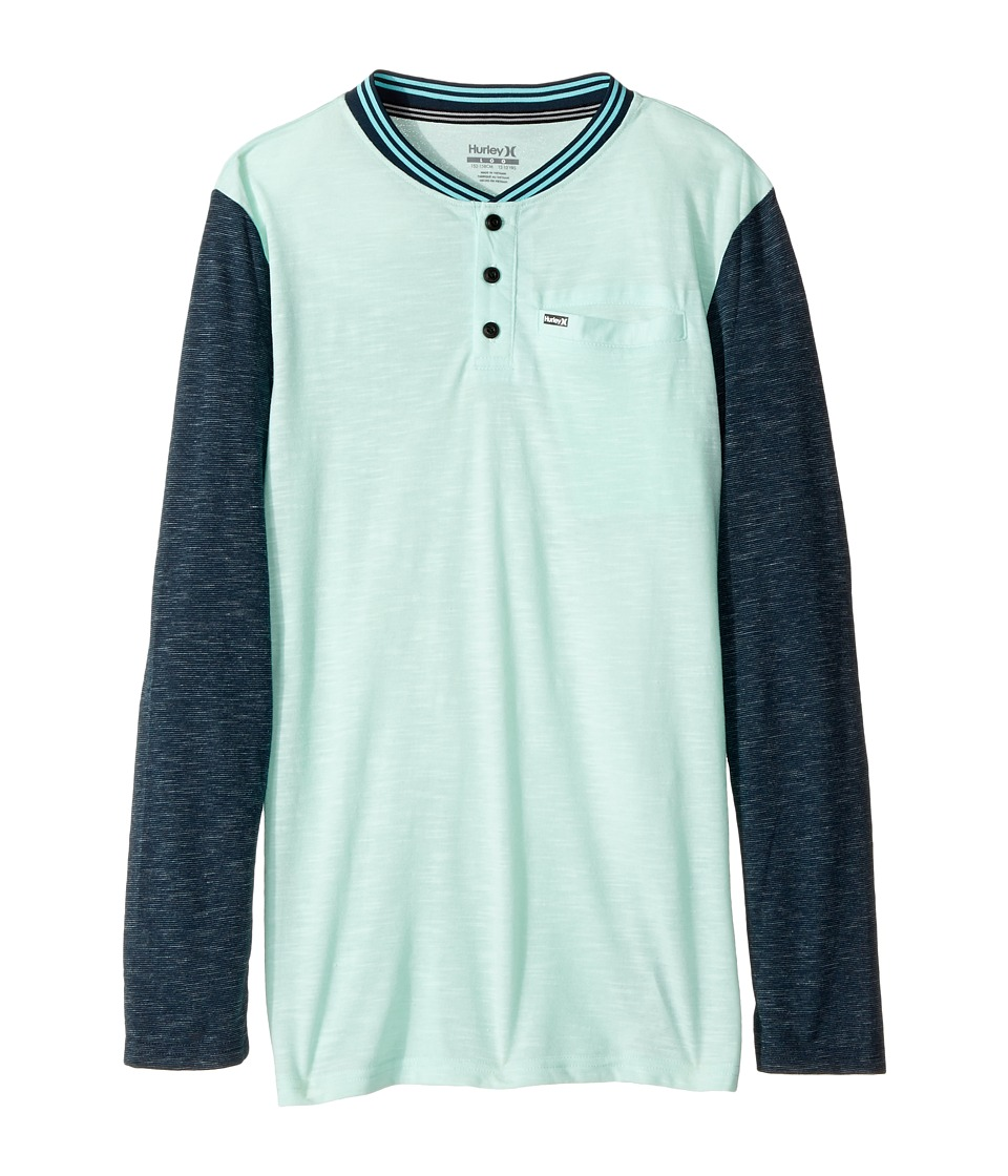 Hurley Kids - Baseball Raglan Knit Top