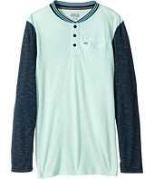 Hurley Kids - Baseball Raglan Knit Top (Big Kids)