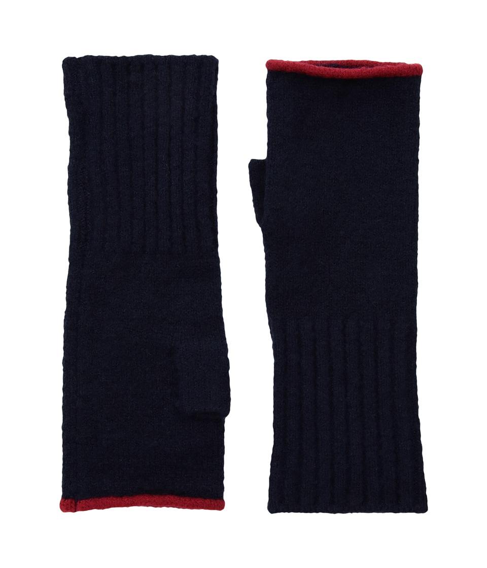 Echo Design Echo Soft Stretch Fingerless Gloves (Maritime Navy) Dress Gloves