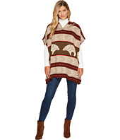 Pendleton - Knit Poncho with Hood