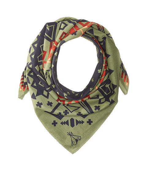 Pendleton Jumbo Bandana - Arrow Revival Sage