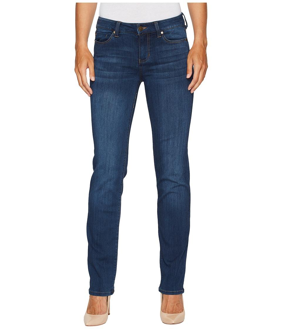 Liverpool - Sadie Straight Jeans in Silky Soft Stretch Denim in Helms Dark (Helms Dark) Womens Jeans