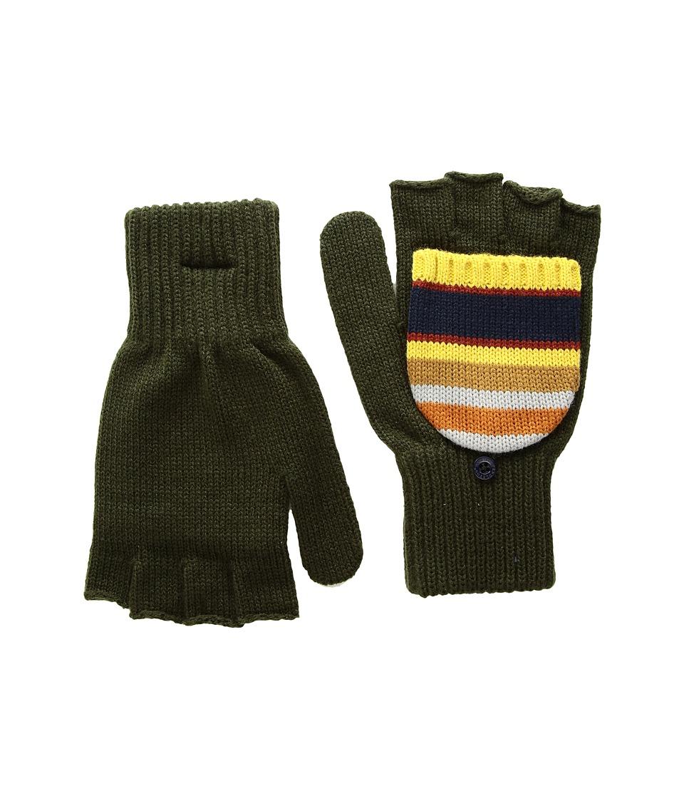 Pendleton National Park Mitten (Badlands Stripe) Wool Gloves