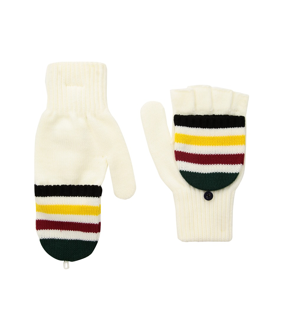 Pendleton National Park Mitten (Glacier Stripe) Wool Gloves
